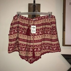 NWT drawstring shorts